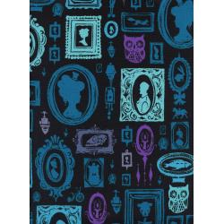 C5191-001 Eclipse - Haunted Hallway - Blue Fabric