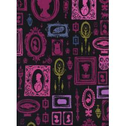 C5191-002 Eclipse - Haunted Hallway - Purple Fabric