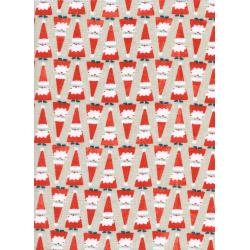 C5070-001 Garland - Solid - Santa Parade Fabric