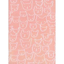 C5150-017 Hello - Hello - Peach Knit Fabric