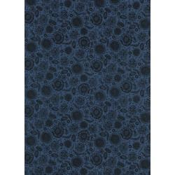 C5164-011 #Lawnquilt - Forest Floor - Midnight Lawn Fabric
