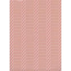 C5173-002 Panorama - Dandy Bars - Blushing Unbleached Cotton Fabric