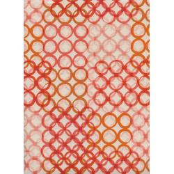 C6013-001 Poolside - Macrame - Peach Unbleached Cotton Fabric