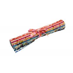 C6999-018 Poolside Fat Quarters Roll