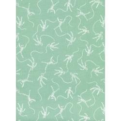 C5009-002 Spellbound - Mummy Dance - Mint Fabric