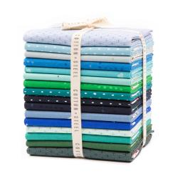 CS100P-C-FQB-3 Cotton+Steel Basics - Cool Fat Quarter - Bundle