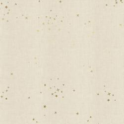 CS100-TW1UM Cotton+Steel Basics - Freckles - Twinkle Unbleached Metallic Fabric