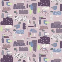 EE102-DR2 Mystical - Cloud Nine - Dusty Rose Fabric