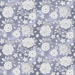 EM103-ST2 Earth Magic - Flower Dream - Stardust Fabric