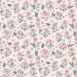 EM104-FP2 Earth Magic - Floral Cluster - Fairy Pink Fabric