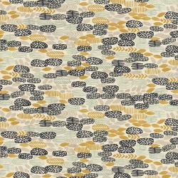 JE102-SG4U Homestead - Pond - Sea Glass Unbleached Fabric