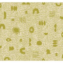 JE104-LI1U Homestead - Grass - Limelight Unbleached Fabric