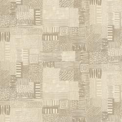JE105-EA5U Homestead - Plots - Earth Unbleached Fabric