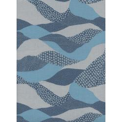 J9009-001 Imagined Landscapes - Lands End - Moonlight Unbleached Cotton Fabric