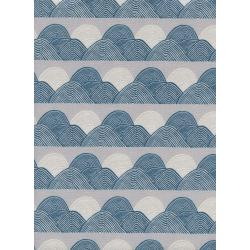 J9013-001 Imagined Landscapes - Headlands - Moonlight Unbleached Cotton Fabric