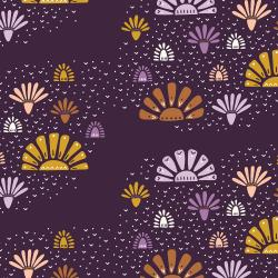 JT100-DU3 Modern Meadow - Dusk Fabric