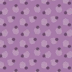 JT103-LI3 Modern Meadow - Spritely Sprouts - Lilac Fabric