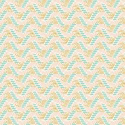 JT104-AQ1 Modern Meadow - Windswept - Aquamarine Fabric