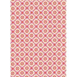 K3021-001 Lucky Strikes - Coffee Shop - Red Fabric