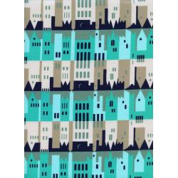 K3026-001 Penny Arcade - City - Overnight Fabric