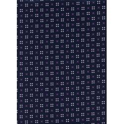K3031-004 Penny Arcade - X Dot - Navy Fabric