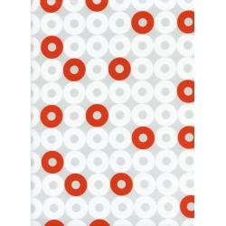 K3034-001 Rotary Club - Ring Rings - Orange Fabric