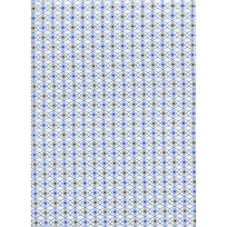 K3038-001 Rotary Club - Facets - Periwinkle Fabric