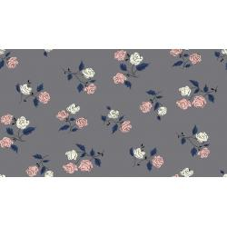 K3065-003 Steno Pool - Roses - Shadow Fabric