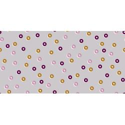 K3070-002 Steno Pool - Reinforcers - Grape Fabric