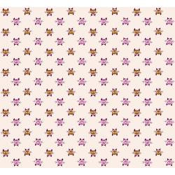 K3071-002 Steno Pool - Calicocats - Peach Fabric