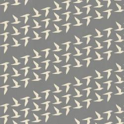 LV103-FO3U By the Seaside - Fly Along - Fog Unbleached Fabric