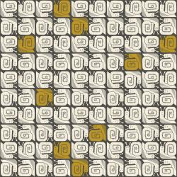 LV200-GY2U In The Woods - Happy Snail - Gray Unbleached Fabric