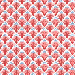 LV403-RQ3 On a Spring Day - To the Sun - Rose Quartz Fabric
