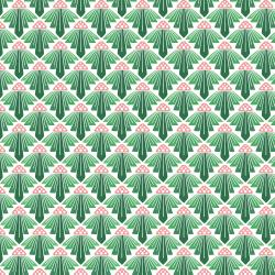 LV403-SG1 On a Spring Day - To the Sun - Spring Green Fabric