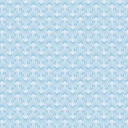 LV405-BL2 On a Spring Day - Petal - Blue Lagoon Fabric