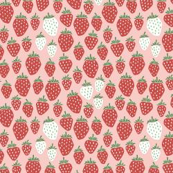 LV500-SR1 Under the Apple Tree - Queen of Berries - Summer Red Fabric