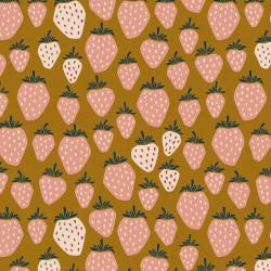LV500-SS8UC Under the Apple Tree - Queen of Berries - Summer Sunset Unbleached Canvas Fabric