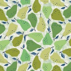 LV502-GR4 Under the Apple Tree - Quince - Green Fabric
