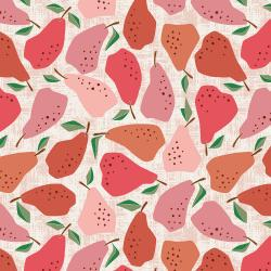 LV502-RE1 Under the Apple Tree - Quince - Red Fabric