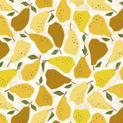 LV502-YE2 Under the Apple Tree - Quince - Yellow Fabric