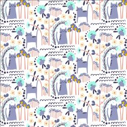MC201-SD1 Glory - ELSIES CAT - Summer Daze Fabric