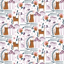 MC201-SU4 Glory - ELSIE'S CAT - Sunset Fabric