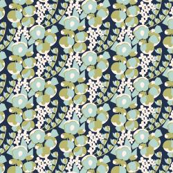 MC302-DA1 Penny Cress Garden - May - Dayflower Fabric