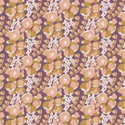 MC302-WB2 Penny Cress Garden - May - Wild Berry Fabric