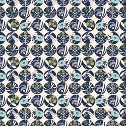 MC303-DB1 Penny Cress Garden - Gardenia - Deep Breath Fabric
