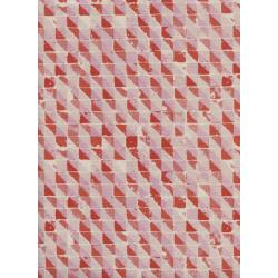 M0066-001 Freshly Picked - Terrace - Pink Unbleached Cotton Fabric