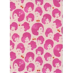 M0027-001 Fruit Dots - Dottie's Friend - Orchid Fabric