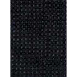 M0056-016 Kicks - Pin Dot - Black Rayon Lawn Fabric