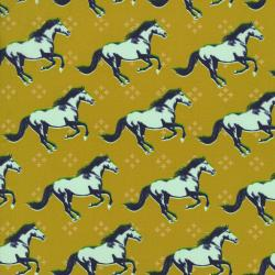 M0003-003 Mustang - Mustang - Gold Metallic Fabric