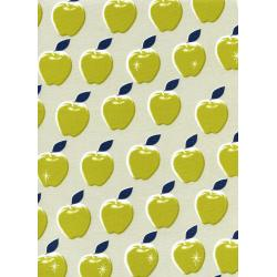M0021-004 Picnic - Apples - Citron Fabric